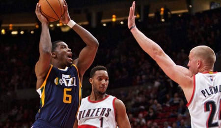 Joe Johnson is contributing nicely for the Utah Jazz.