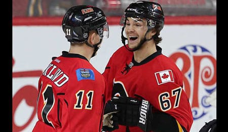 Michael Frolik has gotten hot at the right time for the Calgary Flames.