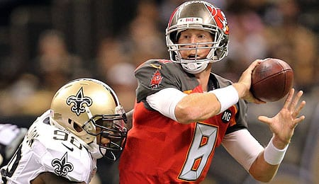 Mike Glennon has a lot of pressure on him with the Chicago Bears.