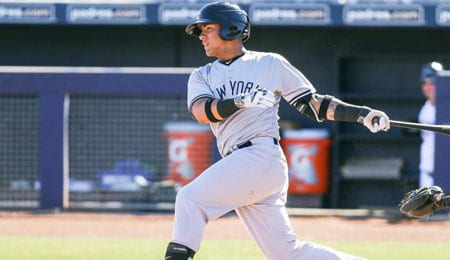 Gleyber Torres is nearly ready to leave his mark with the New York Yankees.