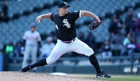 Tommy Kahnle is dominating for the Chicago White Sox.