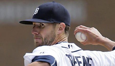 Shane Greene is the new closer for the Detroit Tigers.