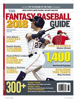 2018 Fantasy Baseball Guide