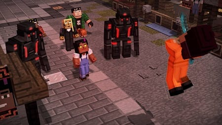 Minecraft Rotorob