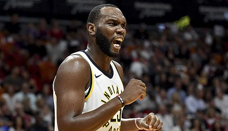 Al Jefferson is getting a chance to play for the Indiana Pacers.