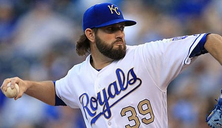 Jason Hammel has pitched well for the Kansas City Royals.
