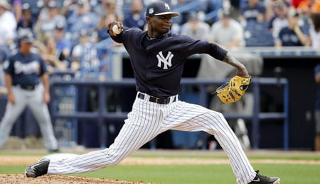 Domingo German will make his first career start for the New York Yankees.