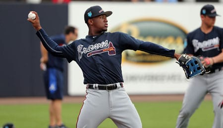 Ronald Acuna is a future superstar for the Atlanta Braves.