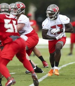 Ronald Jones will likely be the feature running back for the Tampa Bay Buccaneers.