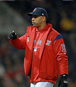 Alex Cora has done an amazing job with the Boston Red Sox.