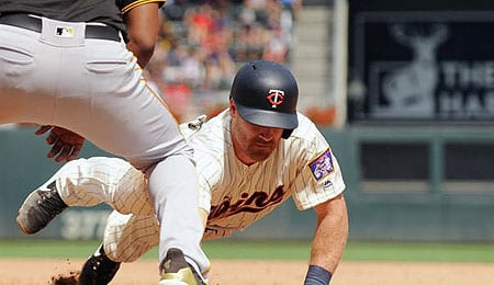 Logan Forsythe has played well for the Minnesota Twins.