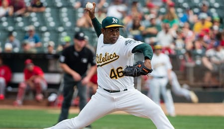 Santiago Casilla was tough to hit for the Oakland Athletics.