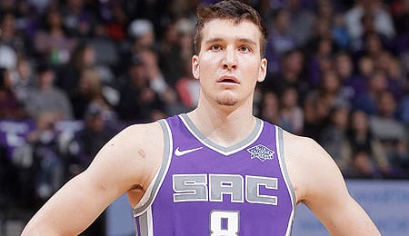 Bogdan Bogdanovic has shown offensive flair for the Sacramento Kings.