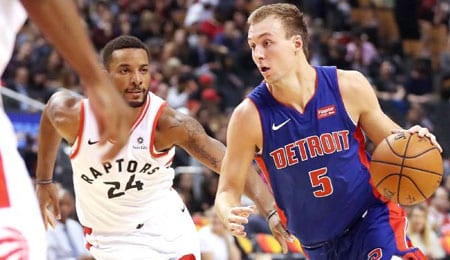 Luke Kennard will soon be ready to rejoin the Detroit Pistons.