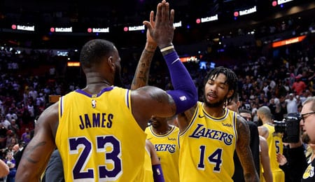 Brandon Ingram has been holding his own for the Los Angeles Lakers.