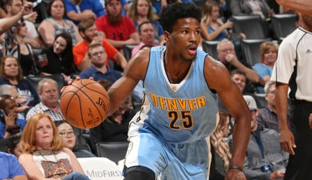 Malik Beasley is getting more burn for the Denver Nuggets.
