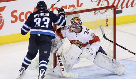 James Reimer has been playing well for the Florida Panthers.